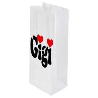 Gigi Gift Bag Wine Wine Gift Bag