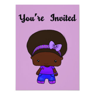 "Gigi Invitation 6.5"" X 8.75"" Invitation Card"