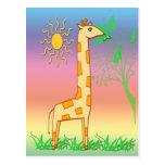 Gigi la postal de la jirafa