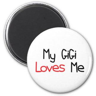 GiGi Loves Me 2 Inch Round Magnet