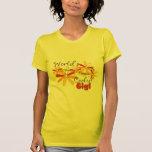 Gigi más fresco del mundo floral camisas