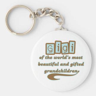 GiGi of Gifted Grandchildren Key Chain
