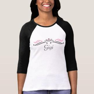 Gigi Scroll Crown Baseball Shirt