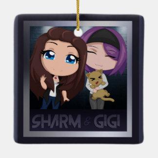 Gigi & Sharm Ornament