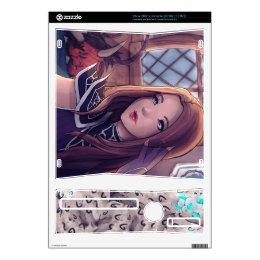 Gigi& Sharm XBOX 360 S Console Decal (2010)