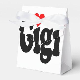 Gigi Tent Favor Boxes