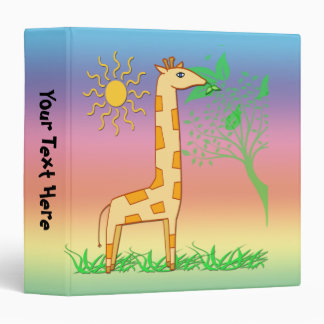 "Gigi the Giraffe  1.5"" Kids Binder"
