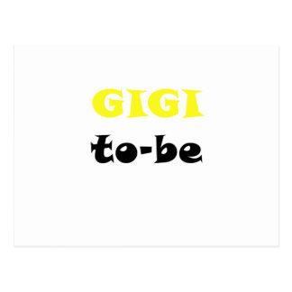 Gigi to be postcards