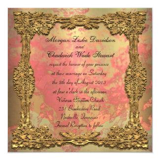 Gigifarah Formal Square Wedding Invitation