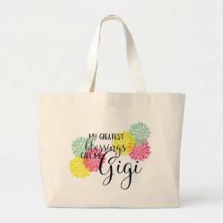 Gigi's Blessings Large Tote Bag