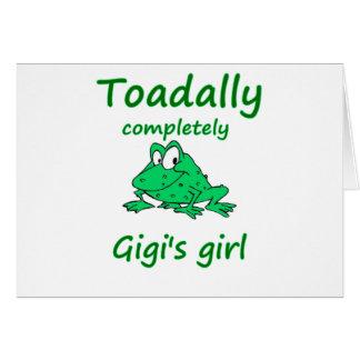 gigi's girl card