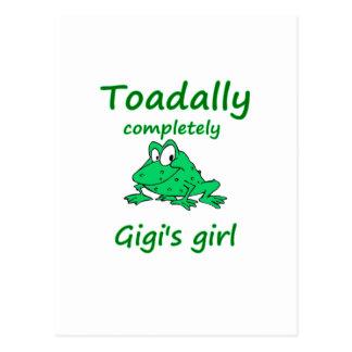 gigi's girl postcard