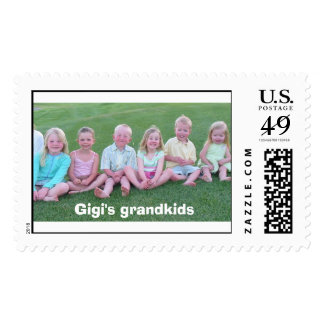 Gigi's grandkids postage