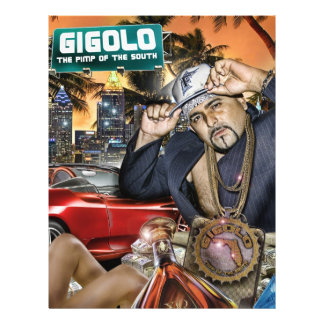 GIGOLO PERSONALIZED FLYER