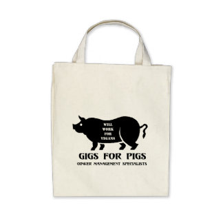 Gigs for Pigs Tote Bag