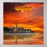 Gijón Póster