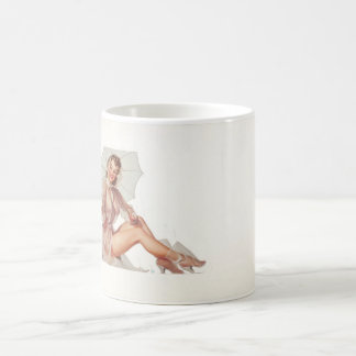 GIL ELVGREN For All Weather Pin Up Art Coffee Mug