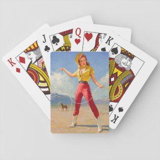 GIL ELVGREN Perfect Form, 1968 Pin Up Art Playing Cards
