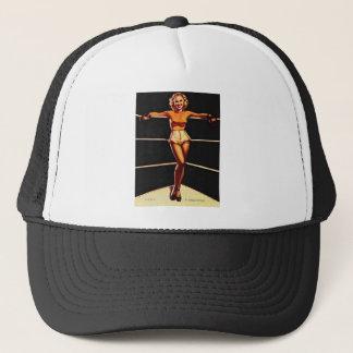 Gil Elvgren Pin Up Girls Tees and Sweats Trucker Hat