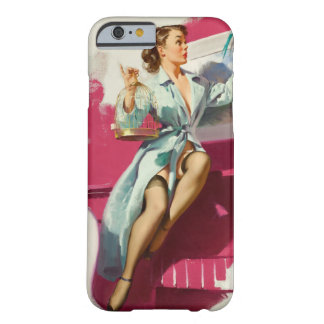 GIL ELVGREN Pretty Cagey, 1953 Pin Up Art Barely There iPhone 6 Case