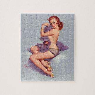 GIL ELVGREN Roxanne, 1960 Pin Up Art Jigsaw Puzzle