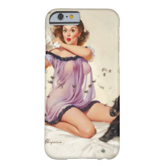GIL ELVGREN Ticklish Situation Pin Up Art Barely There iPhone 6 Case