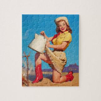 GIL ELVGREN Tops in Service Pin Up Art Jigsaw Puzzle