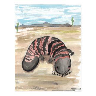 Gila (I'm not a) Monster Postcard