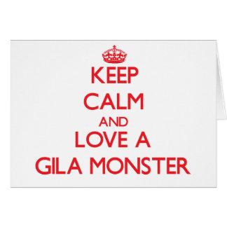 Gila Monster Greeting Card