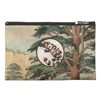 Gila Monster In Natural Habitat Illustration Travel Accessories Bags