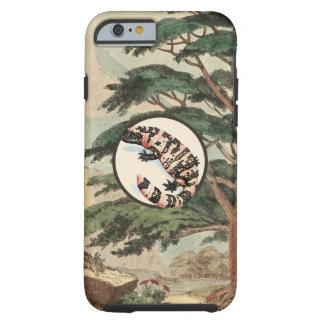 Gila Monster In Natural Habitat Illustration Tough iPhone 6 Case