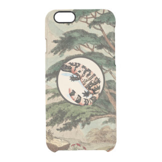 Gila Monster In Natural Habitat Illustration Uncommon Clearly™ Deflector iPhone 6 Case