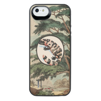 Gila Monster In Natural Habitat Illustration Uncommon Power Gallery™ iPhone 5 Battery Case