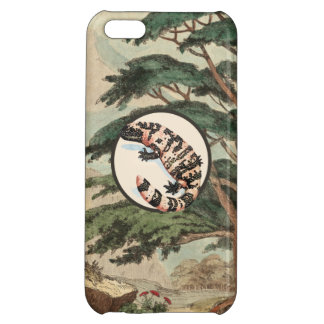 Gila Monster In Natural Habitat Illustration iPhone 5C Cover