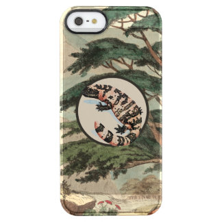 Gila Monster In Natural Habitat Illustration Uncommon Clearly™ Deflector iPhone 5 Case