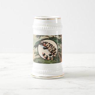 Gila Monster In Natural Habitat Illustration Coffee Mugs