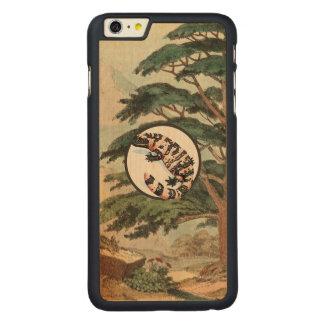Gila Monster In Natural Habitat Illustration Carved® Maple iPhone 6 Plus Slim Case