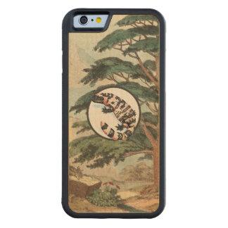 Gila Monster In Natural Habitat Illustration Carved® Maple iPhone 6 Bumper