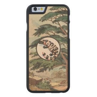 Gila Monster In Natural Habitat Illustration Carved® Maple iPhone 6 Case