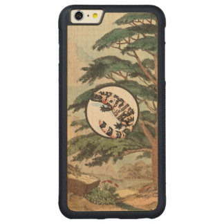 Gila Monster In Natural Habitat Illustration Carved® Maple iPhone 6 Plus Bumper Case