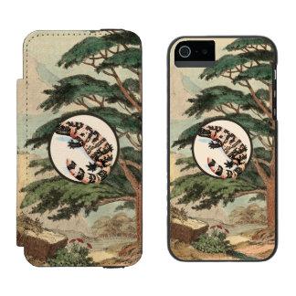 Gila Monster In Natural Habitat Illustration Incipio Watson™ iPhone 5 Wallet Case