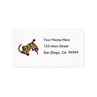 Gila Monster Label