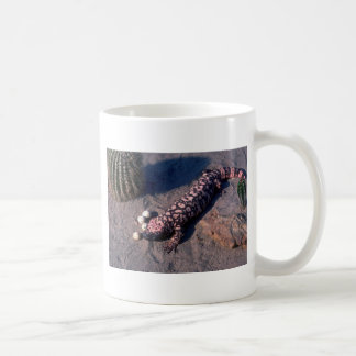 Gila Monster Lizard eating Desert Quail eggs Coffee Mug