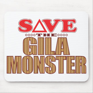 Gila Monster Save Mouse Pad