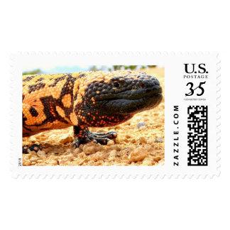 gila monster stamp