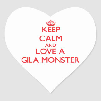 Gila Monster Stickers