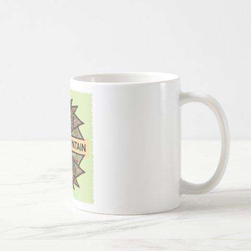 Gila Mountain Native American Indian Coffee Mug