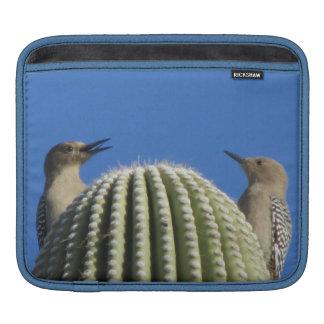 Gila Woodpecker Couple Sleeve For iPads