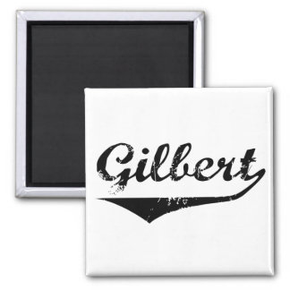 Gilbert 2 Inch Square Magnet