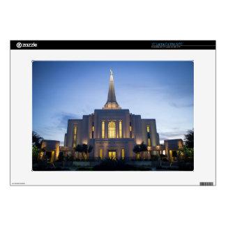 "GIlbert Arizona LDS Temple 15"" Laptop Skin"